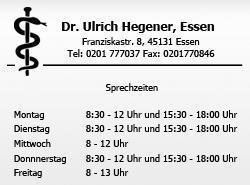 Hegener Ulrich Arzt