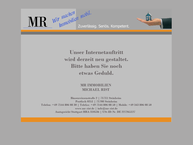 Website von MR Immobilien Michael Rist Immobilienmakler