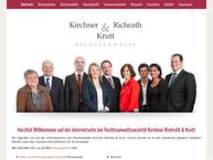 Website von Kirchner Richrath