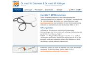 Website von Dr. Med. W. Dobmeier & Dr. Med. m. Köllinger
