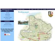 Website von Wasserbeschaffungsverband