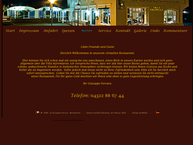 Website von Villa Coloniale