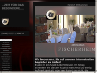 Website von Landhaus Fischerheim