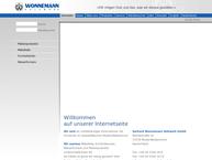 Website von Gerhard Wonnemann Holzwerk GmbH