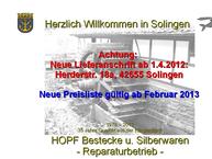 Website von Erich Hopf