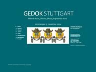 Website von Gedok Gemeinschaft e.V.