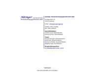 Website von Häringer Steuerberatungs GmbH