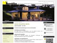 Website von Annette Nocke Immobilien Berlin Charlottenburg ( Wohnungen,häuser,grundstücke,miethäuser )