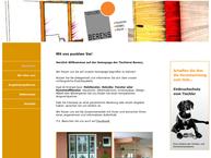 Website von Tischlerei Josef Berens GmbH & Co
