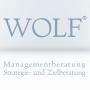 Wolf Managementberatung. Strategie- und Zielberatung.
