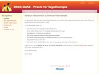 Website von Brosy Janina Ergo-Oase Ergotherapiepraxis