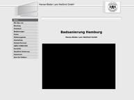 Website von Hanse-Bäder Lars Niefünd GmbH