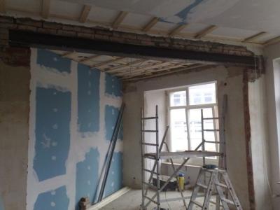 Rf altbausanierung handwerkliche dienstleistungen in - Wand durchbruch ...