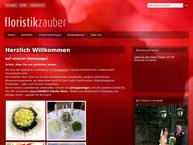 Website von Floristikzauber Steffen Hamel