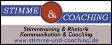 Stimme und Coaching