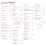 Colonial Waren + Restaurant - Speisekarte