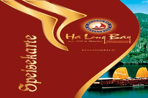Halongbay Speisekarte