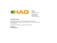 Website von Hag e.K.