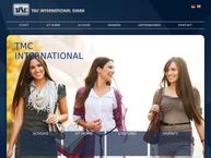 Website von T.M.C. International im- und Export GmbH