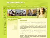 Website von Modefriseur eG - Dresden-Klotzsche