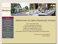 ventana restaurant und caf in ibbenb ren stadt ffnungszeiten. Black Bedroom Furniture Sets. Home Design Ideas