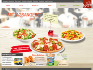 Website von Joeys Pizza Hamburg - Neugraben