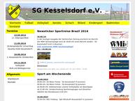Website von Sportgemeinschaft Kesselsdorf e.V.
