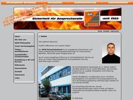 Website von WSW-Wach-u.Sicherheitsdienst Wendelstein Inh. Rolf Arold