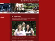 Website von Gasthof Brückenwirt