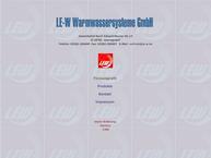 LE-W Warmwassersysteme GmbH, Montagebauunternehmen in Hennigsdorf