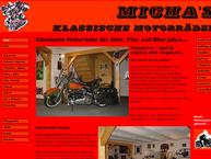 Website von Micha's klassische Motorräder