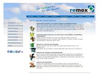 Website von Remex Entsorgungsgesellschaft Borken mbH