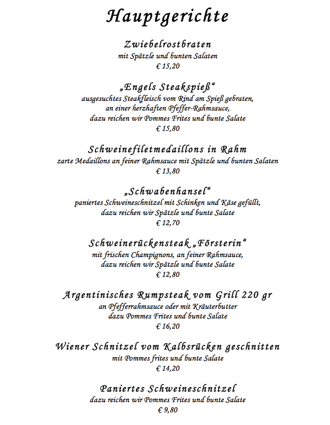 restaurants in baden baden