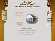 Website von Gasthof Zum Löwen