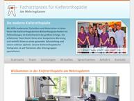 Website von Duncker Martin Dr. Kieferorthopäde