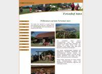 Website von Ferienhof Antes Margit Antes