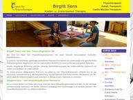 Website von Sons Birgitt Krankengymnastik