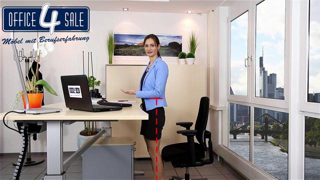 Ratgeber-Video 3: ergonomisches Steh-Sitz-Arbeiten