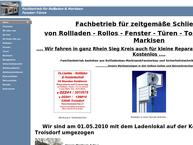 Website von A.liashke Rolläden und Fenstertechnik