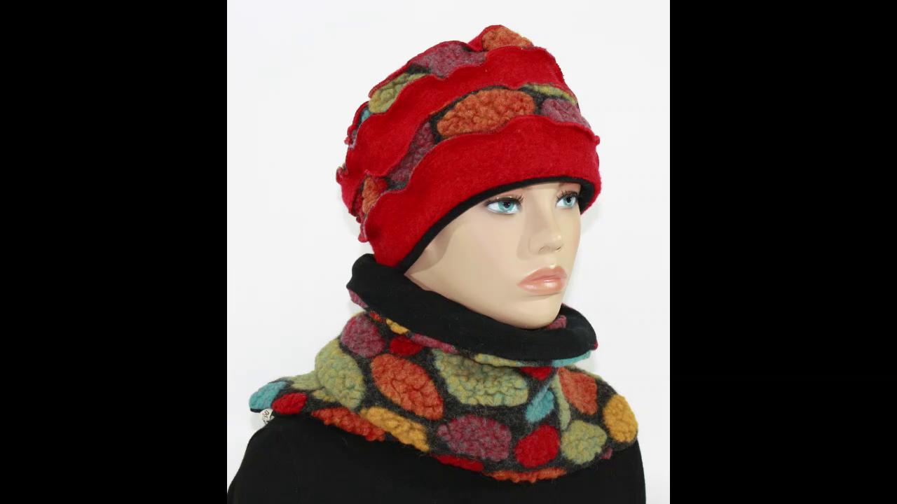 Mütze Schal Set klennes