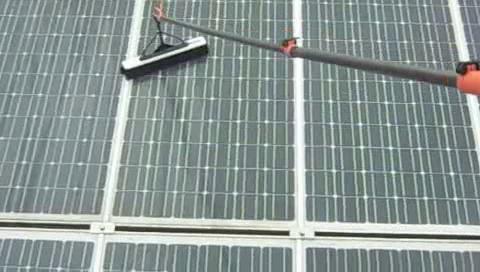 NF-Tec professionelle Solarreinigung