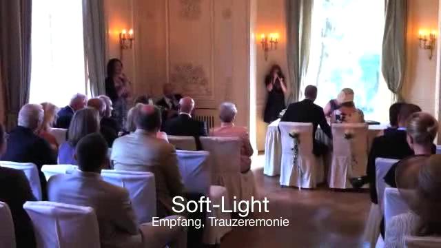 Hochzeitsvideo, Hintergrund und Partymusik