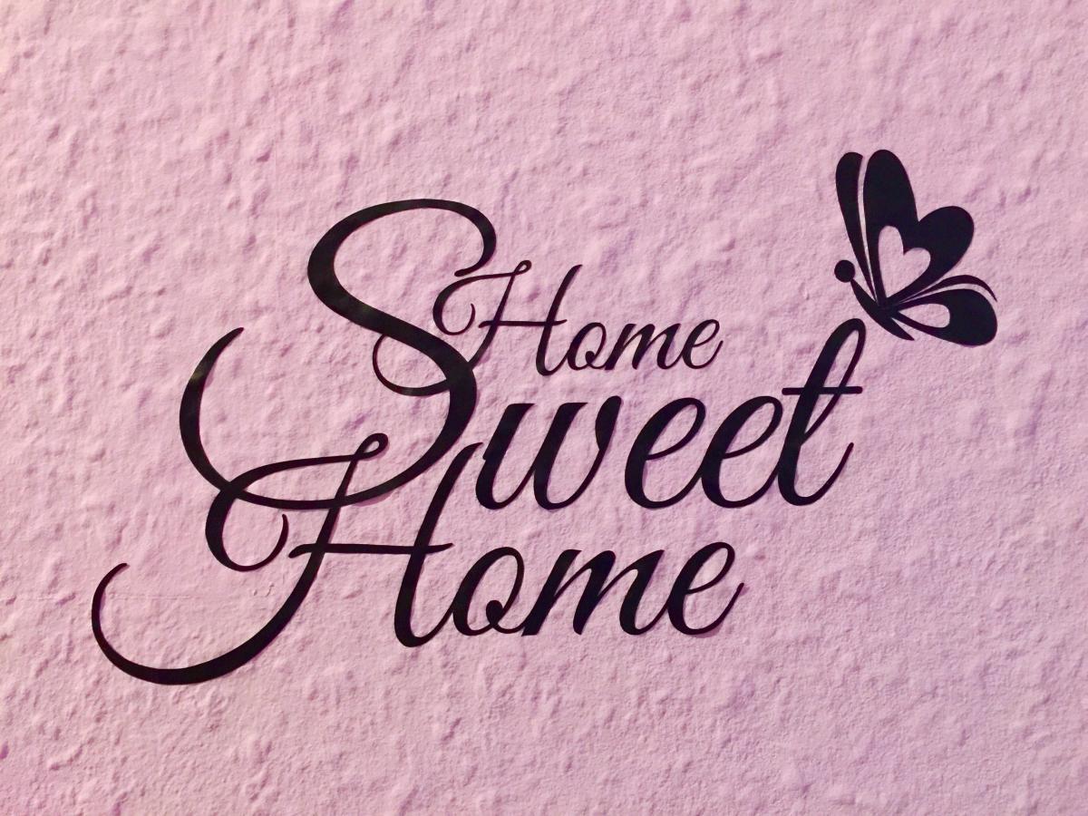 Schön Wandtattoo Home Sweet Home Referenz Von Wc Aufkleber