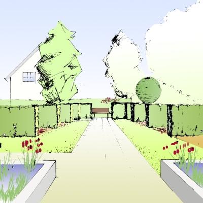 Landschaftsarchitektur Skizze – proxyagent.info