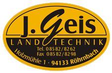 Johann Geis, Landmaschinenhandel und Reparaturwerkstatt eingetragener Kaufmann