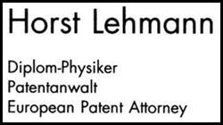 Lehmann Horst Patentanwalt Patentanwälte