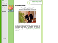 Website von Dr. Monika Zuther