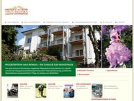 Website von Pflegezentrum Haus Monika GmbH & Co. KG