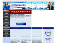 Website von Ziehl Computersysteme GbR