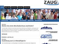 Website von Zaug GmbH